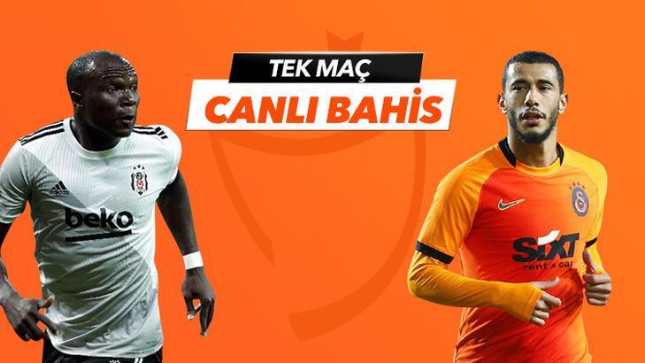 Beşiktaş - Galatasaray derbisi Tek Maç ve Canlı Bahis seçenekleriyle Misli.com'da