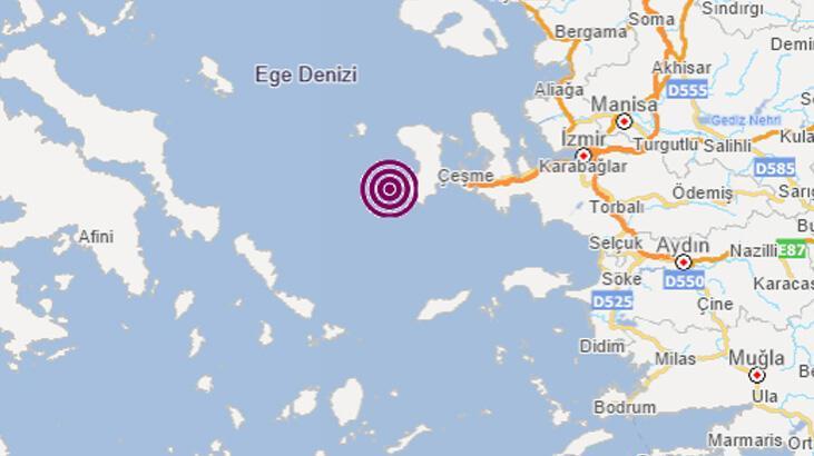 Son dakika... İzmir'de deprem! AFAD ve Kandilli'den peş peşe açıklamalar