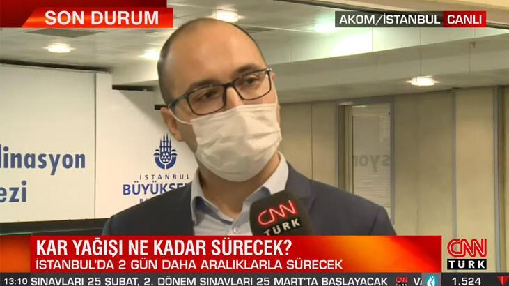 İstanbul'da kar yağışı ne kadar sürecek? AKOM'dan son dakika açıklaması