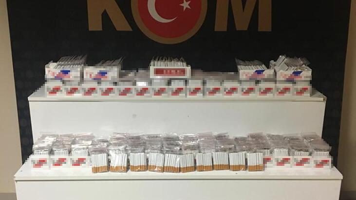 Kırşehir'de kaçak tütün operasyonu