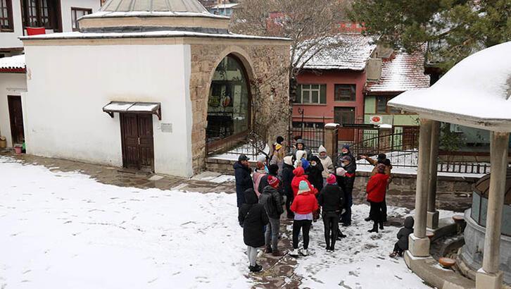 Turistler Afyonkarahisar'ı gezdi