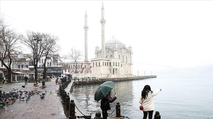 Son dakika... İstanbul'da kar yağışı etkisini sürdürüyor