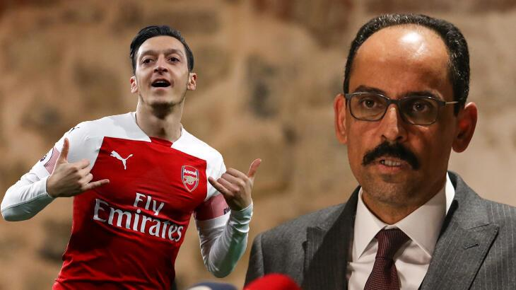 İbrahim Kalın'dan Mesut Özil'e 'hoş geldin' mesajı