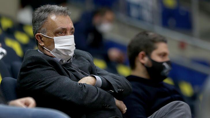 Ahmet Nur Çebi, Beşiktaş Basketbol Takımı'nı kutladı!