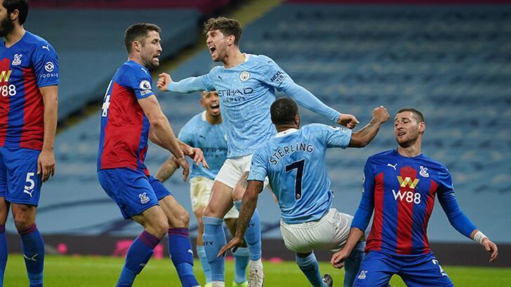 Manchester City, Crystal Palace'ı farklı yendi