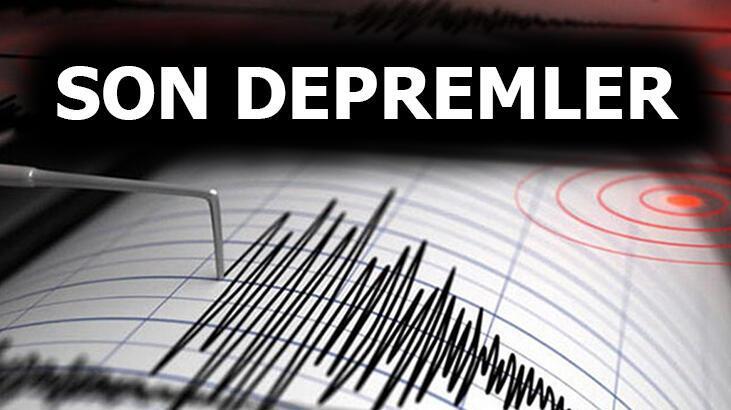 Son depremler listesinde son dakika! Kandilli ve AFAD duyurdu! Deprem oldu mu?