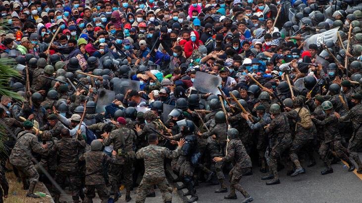 Binlercesi ABD'ye ulaşmak için yollarda