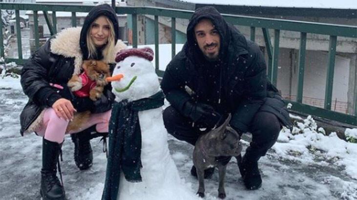 İrfan Can Kahveci'nin kardan adam hatırası