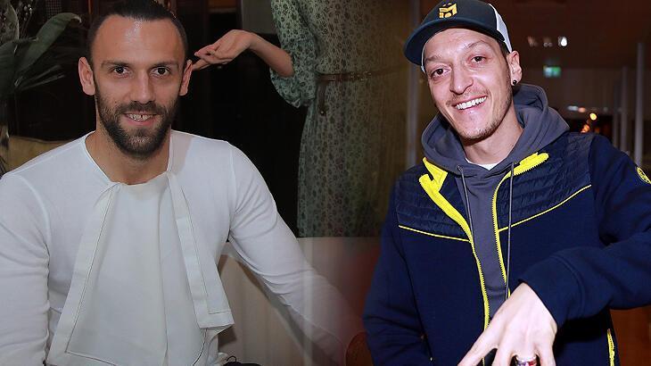 Transfer haberleri | Mesut Özil transferinden sonra Vedat Muriqi! Eşi paylaştı...