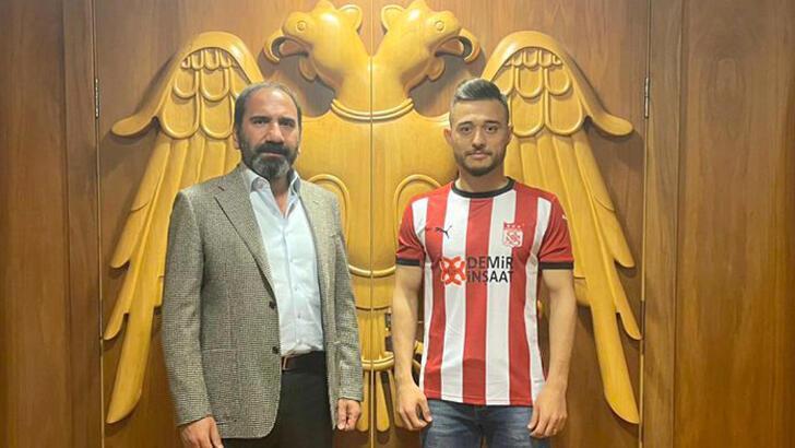 Son dakika | Alaaddin Okumuş, Demir Grup Sivasspor'da