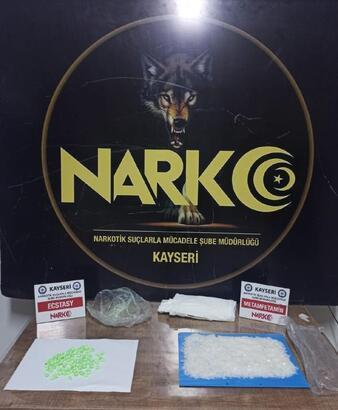 Kayseri'de uyuşturucuya 2 gözaltı