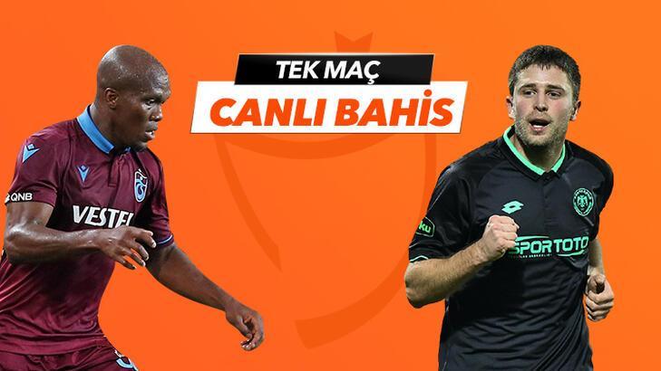 Trabzonspor - Konyaspor maçı Tek Maç ve Canlı Bahis seçenekleriyle Misli.com'da