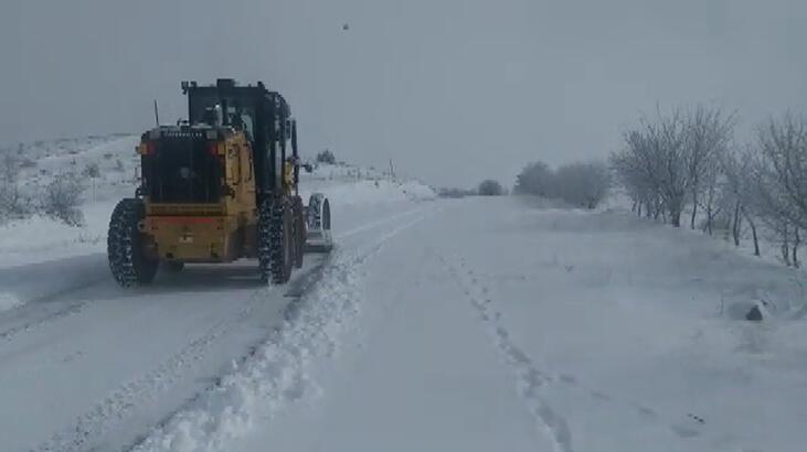 Elazığ'da 441 köy yolu kardan kapandı