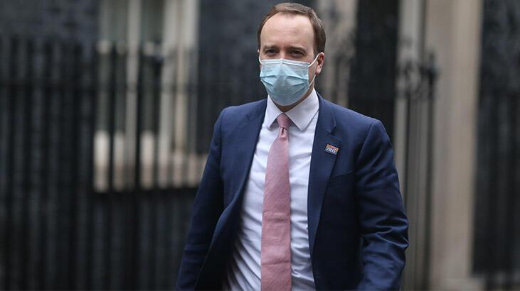 İngiltere Sağlık Bakanı Hanckok karantinada