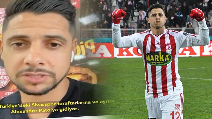 "Cicinho'dan Pato'ya öneri: ""Sivasspor'a git"""