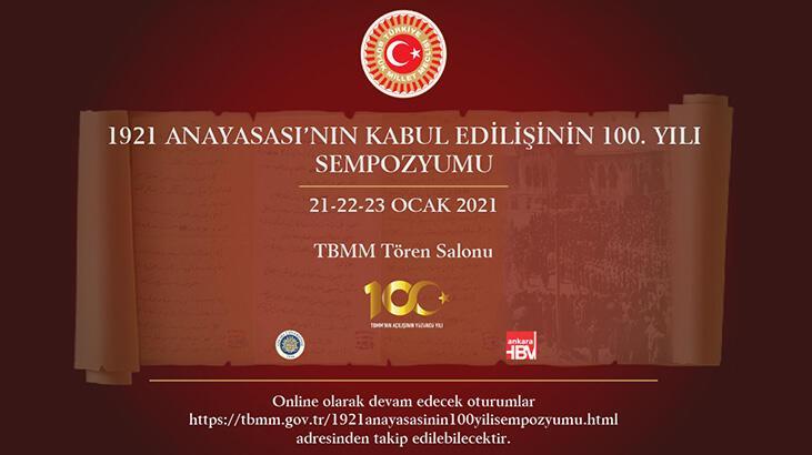 TBMM'de, 1921 Anayasası'nın kabulünün 100'üncü yılı sempozyumu