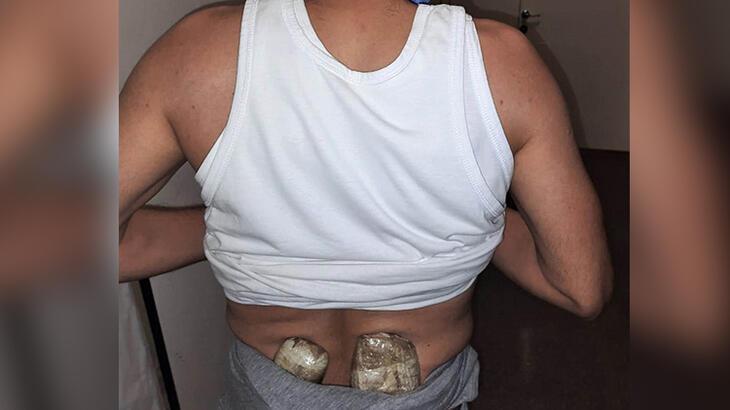 Bellerinde uyuşturucu taşıyan 2 şüpheli böyle yakalandı!