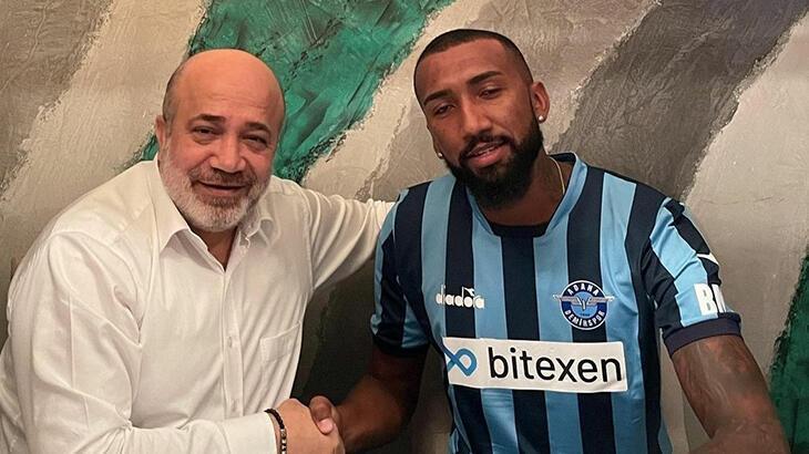 Adana Demirspor, Brezilyalı forvet Lucas Rangel'i transfer etti