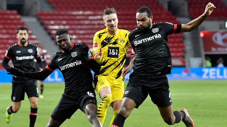 Dortmund'a Leverkusen darbesi