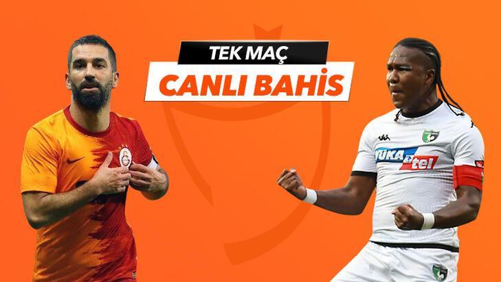 Galatasaray - Denizlispor maçı Tek Maç ve Canlı Bahis seçenekleriyle Misli.com'da