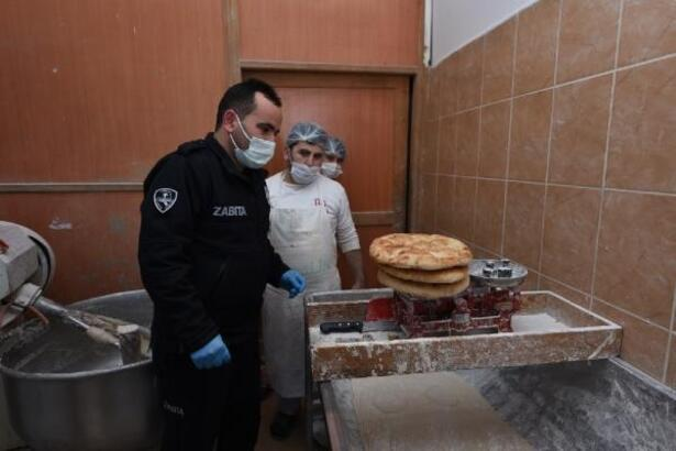 Turhal'da Zabıta ekiplerinden fırınlara hijyen denetimi