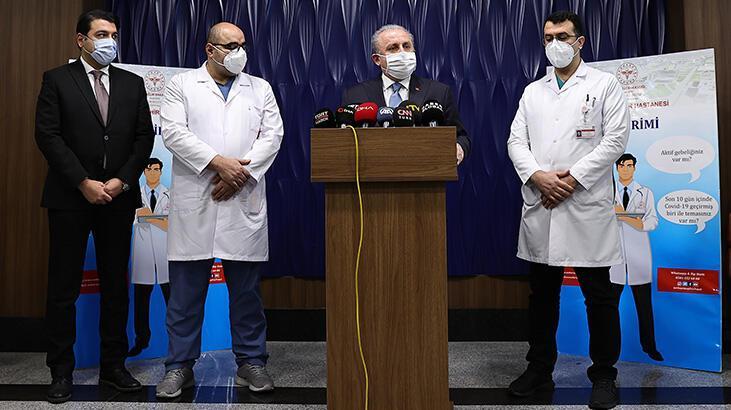 Son dakika... Aşı yaptıran TBMM Başkanı Şentop'tan ilk açıklama