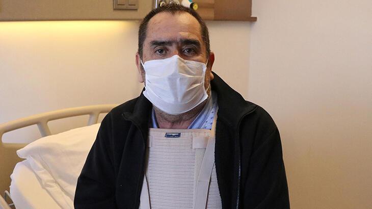Mucize eseri yaşadığı belirlenen hastanın aort damarı değiştirildi
