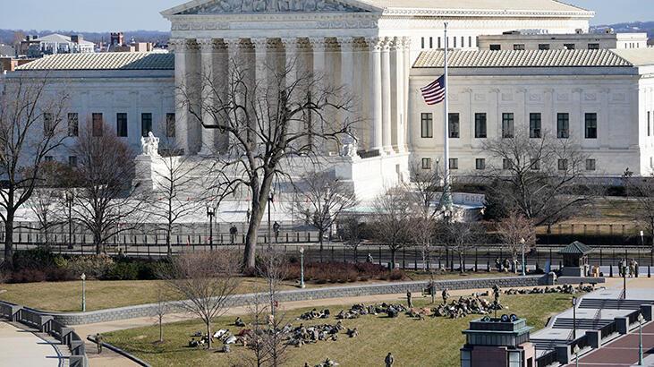 ABD Yüksek Mahkemesindeki bomba ihbarı asılsız çıktı!
