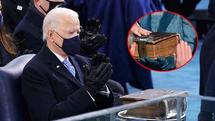 Biden'ın el bastığı İncil'le ilgili çarpıcı detay