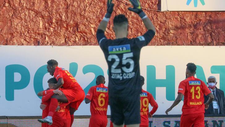 Malatyaspor deplasmanda 3 maç sonra kazandı