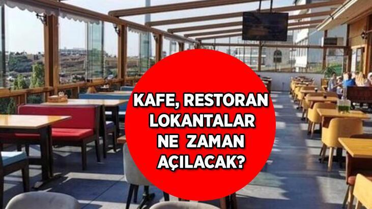 Kafe, restoran ve lokantalar için Cumhurbaşkanı Erdoğan'dan sevindiren açıklama! Kafe, lokanta ve restoranlar ne zaman açılacak?