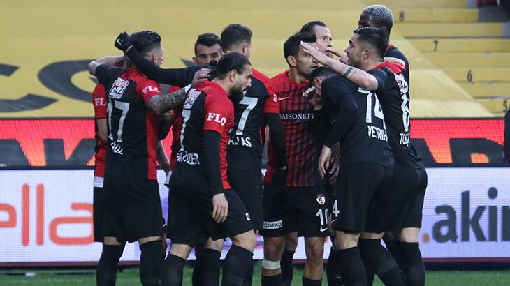 Gaziantep FK, 26 maç sonra gol atamadı