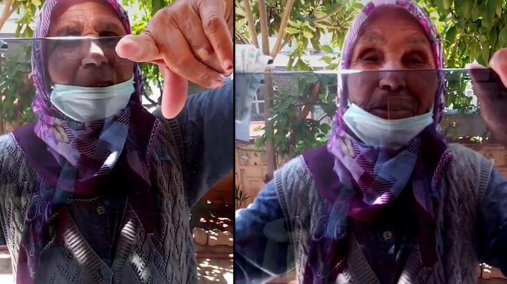 Cinayete kurban giden yaşlı kadının son görüntüleri ortaya çıktı!