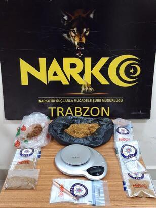 Trabzon'da uyuşturucu operasyonu