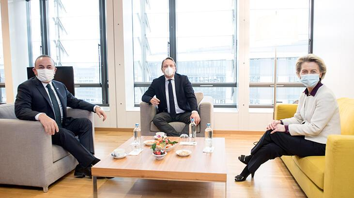 Bakan Çavuşoğlu'ndan AB ile kritik görüşme