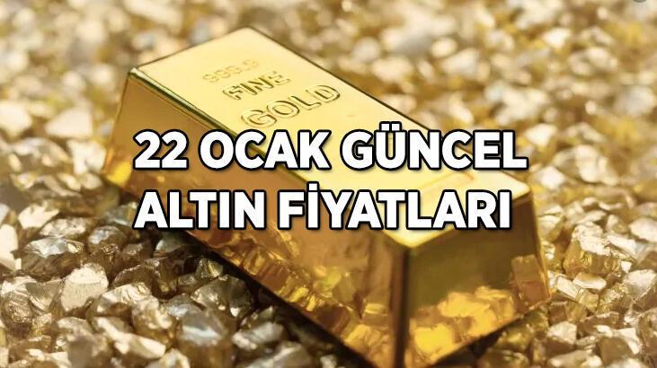 Altın fiyatları haftanın son işlem gününde kaç TL'den işlem görüyor? Çeyrek, Yarım ve Tam altın alış ve satış fiyatları...