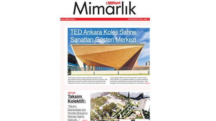 Milliyet Mimarlık Dergisi yayın hayatına başlıyor!