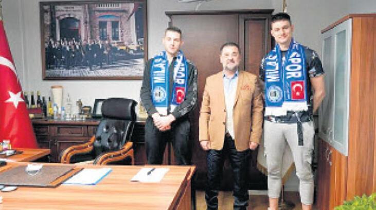 Milas Belediyespor'da transferler tanıtıldı
