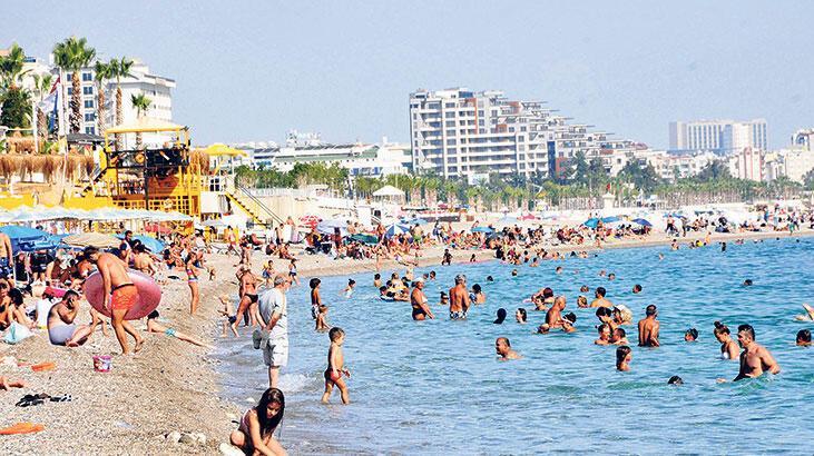 Yerli turist 3. çeyrekte  18.9 milyar lira harcadı
