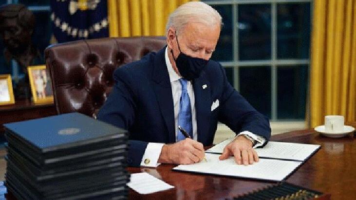 ABD Başkanı Biden'dan 2 Kovid-19 kararnamesi