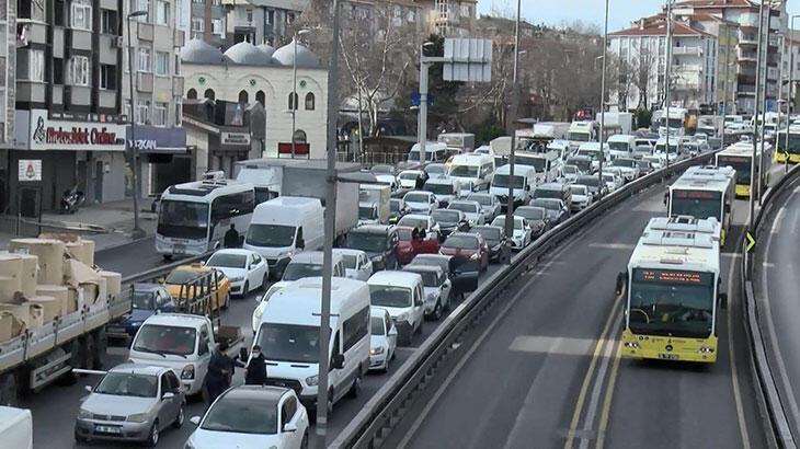İstanbul'da hayatı durduran çalışma! Yarına kadar sürecek