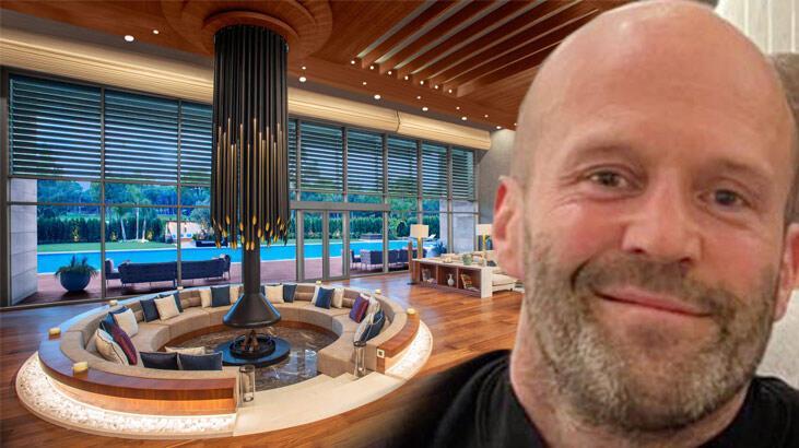 Jason Statham, Antalya'da kurşun geçirmez camlı villada kalıyor
