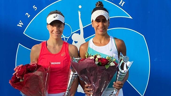Milli tenisçi Çağla Büyükakçay şampiyon oldu!