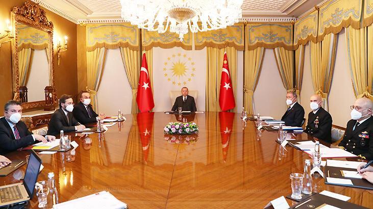 Son dakika Kritik toplantı! Cumhurbaşkanı Erdoğan başkanlık etti