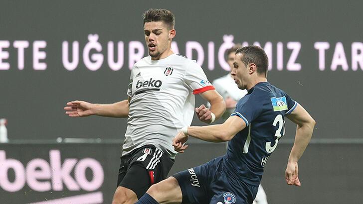 Son dakika - Beşiktaş'ta Montero yabancı sınırına takıldı! Muhtemel 11'ler...