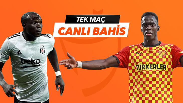 Beşiktaş - Göztepe maçı Tek Maç ve Canlı Bahis seçenekleriyle Misli.com'da