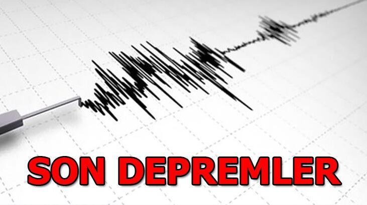 Son depremler AFAD ve Kandilli tarafından duyuruldu! 24 Ocak 2021 Pazar