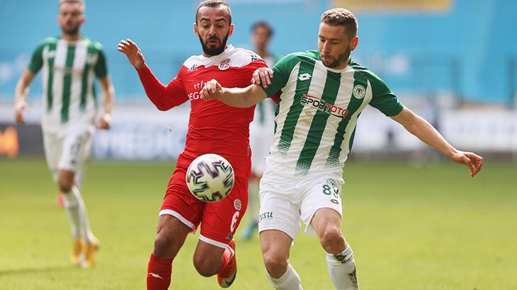 Konyaspor - Antalyaspor: 0-0