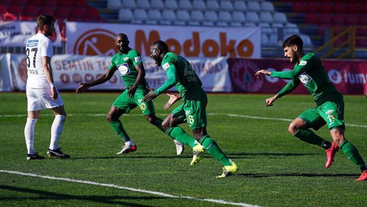 Tuzlaspor-Akhisarspor: 0-3