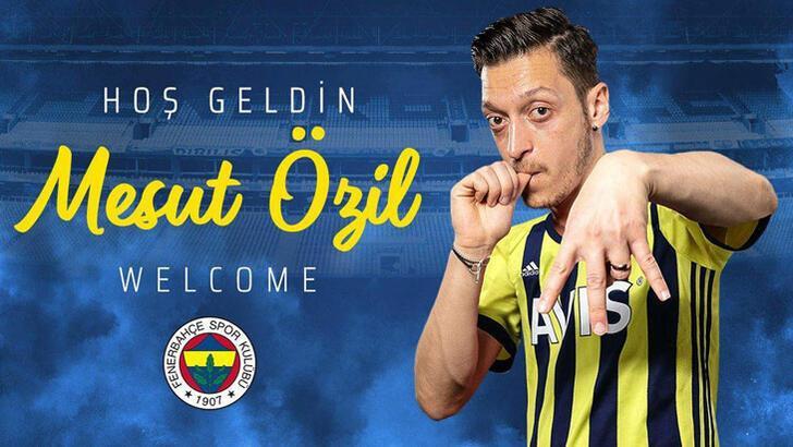 Son dakika | Fenerbahçe, Mesut Özil ile 3.5 yıllık sözleşme imzaladı!